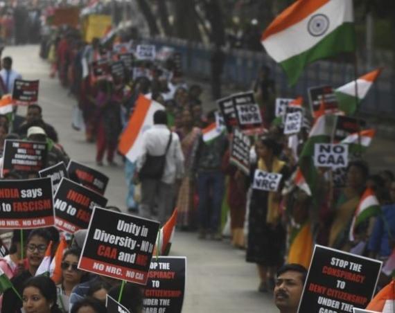 Ribuan Umat Kristen India Berunjuk Rasa Menentang UU Anti-Muslim