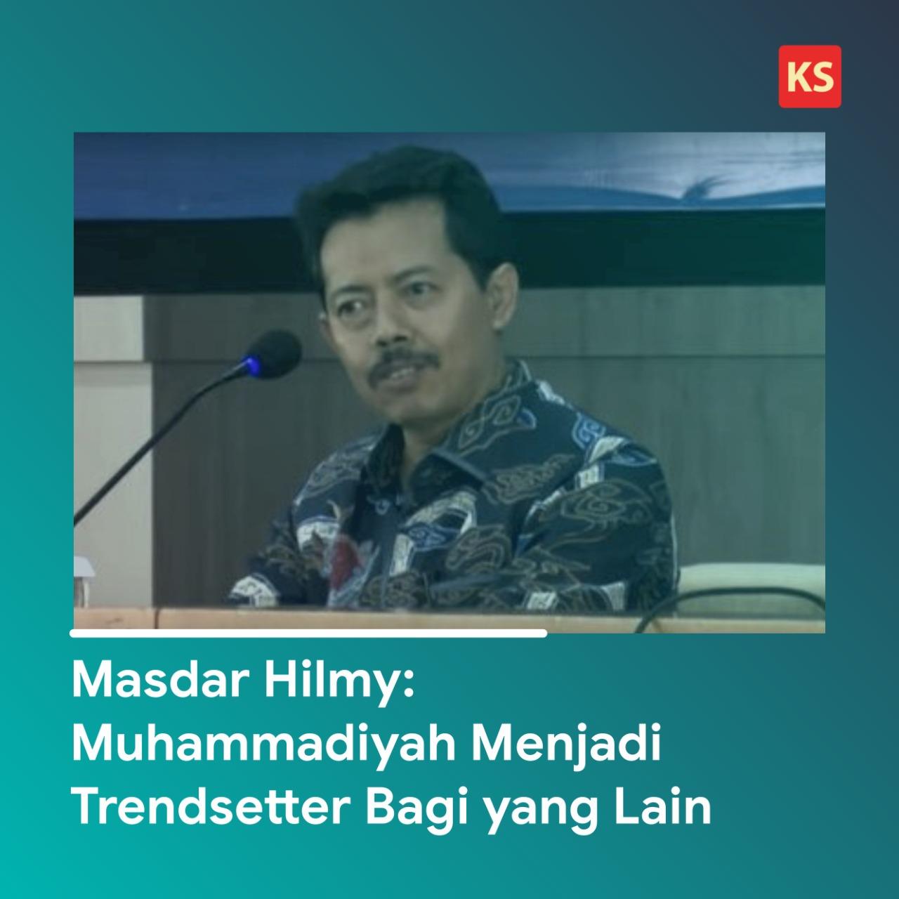 Masdar Hilmy: Muhammadiyah Menjadi Trendsetter Bagi yang Lain