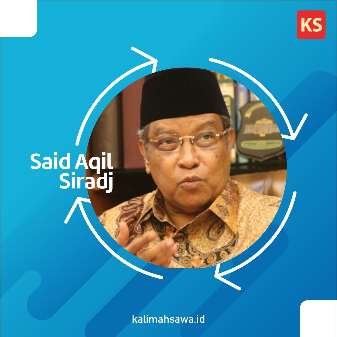 Said Aqil Siradj, Ketua Umum Pengurus Besar Nahdlatul Ulama, menyampaikan 4 pokok pikiran kebangsaan